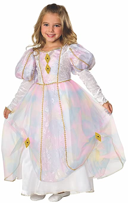 Rainbow Princess Costume, Small