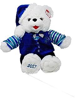 2017 holiday 20 stuffed christmas blue boy teddy bear