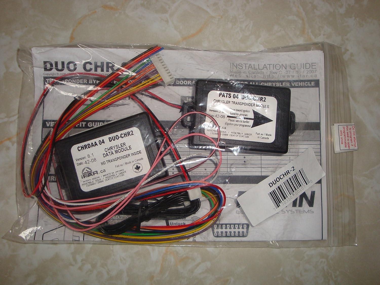 Fortin DUO-CHR-2 Chrysler Transponder Bypass Alarm/Door Factory Alarm and Door-Lock Control