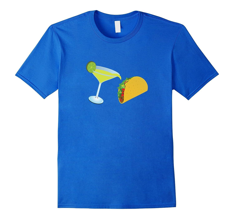 Taco and Tequila T-Shirt Cinco De Mayo Margarita Tacos Tee-TD
