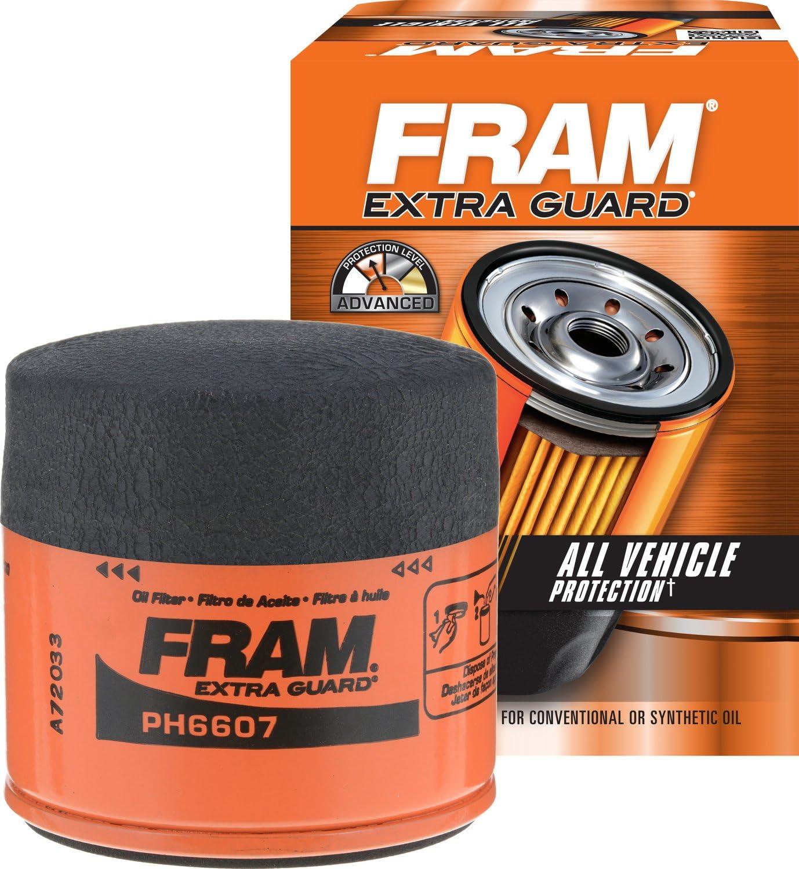 FRAM PH6607 Extra Guard Passenger Car Spin-On Oil Filter: Automotive