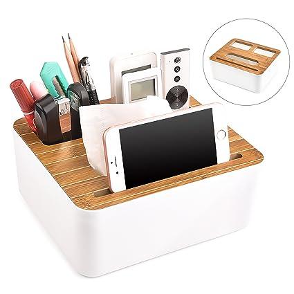 quality design 1c96a 0ff4d Amazon.com: cindick Tissue Box Cover, Phone Holder Remote Control ...