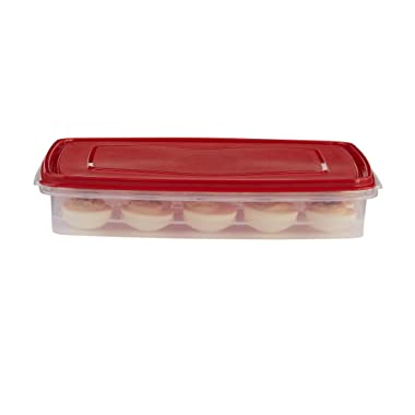 Rubbermaid Specialty Egg Keeper Food Storage Container 1777192