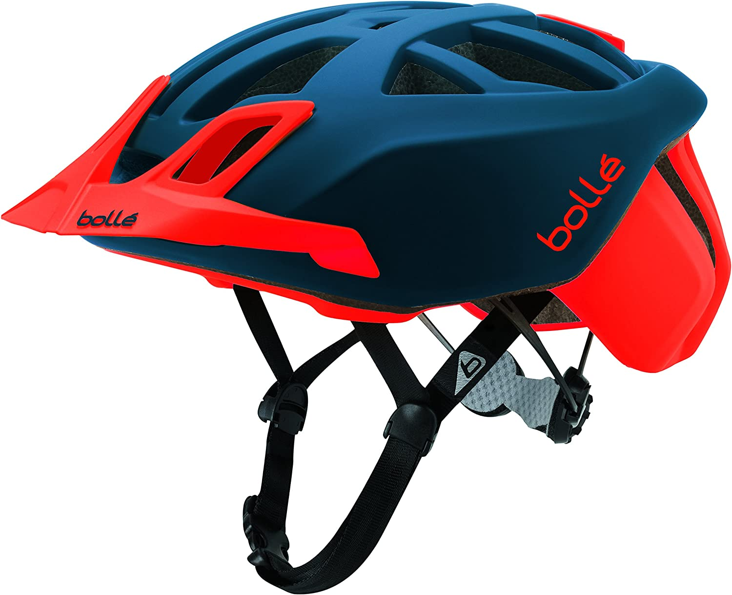 51-54 cm Bolle Unisexs The One Mtb Cycling Helmet Navy Red