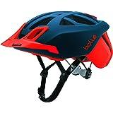 Bollé (CEBF5) 31595 Casco Ciclismo, Unisex Adulto, Azul Marino/Rojo,