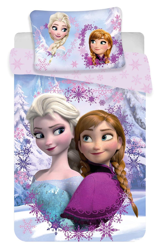 Housse de Couette Coton Reine des neiges Frame Parure de lit Enfant