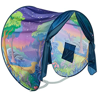 Dream Tents Fun Pop Up Tent- Fantasy Forest- Twin Size: Home & Kitchen