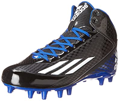 the best attitude 6d53d 020bb adidas Performance Mens Filthyspeed Mid Fly Football Cleat, BlackWhiteRoyal,  10