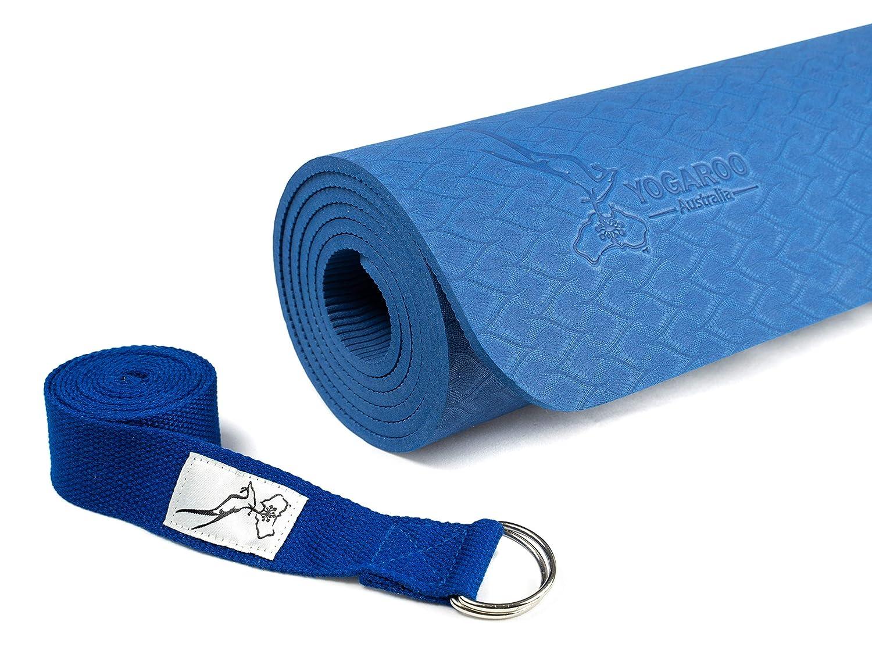 YOGAROO AUSTRALIA Eco Friendly Antideslizante Yoga Mat, SGS ...