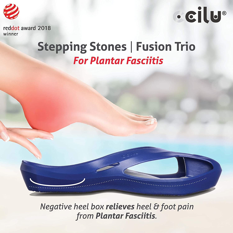 Amazon.com: Ccilu Stepping Stones Fusion Trio Sandalias para ...