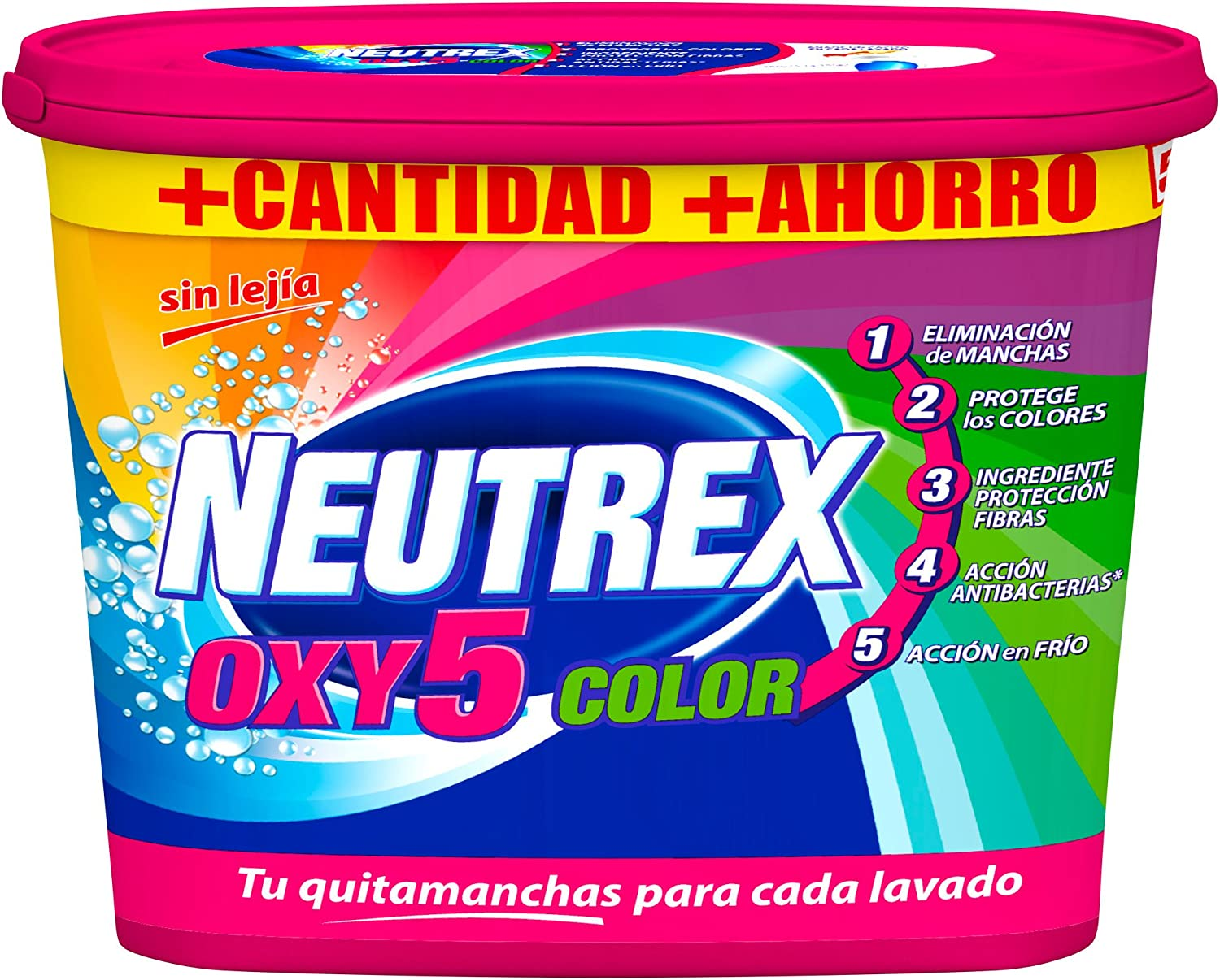 Neutrex Oxy Color Quitamanchas Polvo - 512g: Amazon.es: Amazon Pantry