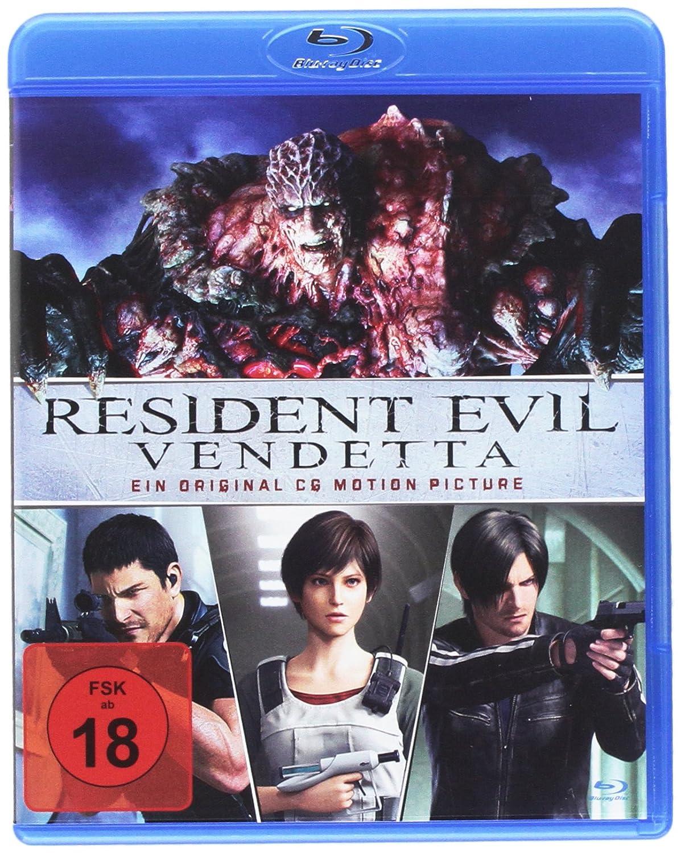 Resident Evil: Vendetta [Alemania] [Blu-ray]: Amazon.es: Tsujimoto ...