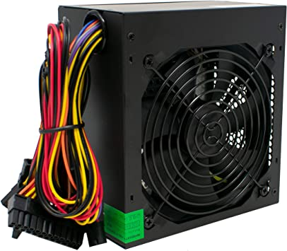 PSU 500W ATX Fuente de Alimentación Conmutada/Ventilador ...
