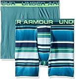 Under Armour Boys' 2 Pack Sold Cotton Boxer Briefs