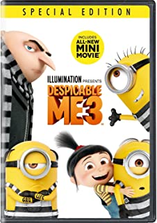 Amazon Com Despicable Me 3 Dvd Digital Download 2017