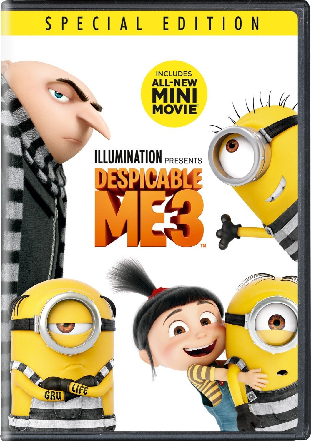 Despicable Me 3 Special Edition DVD