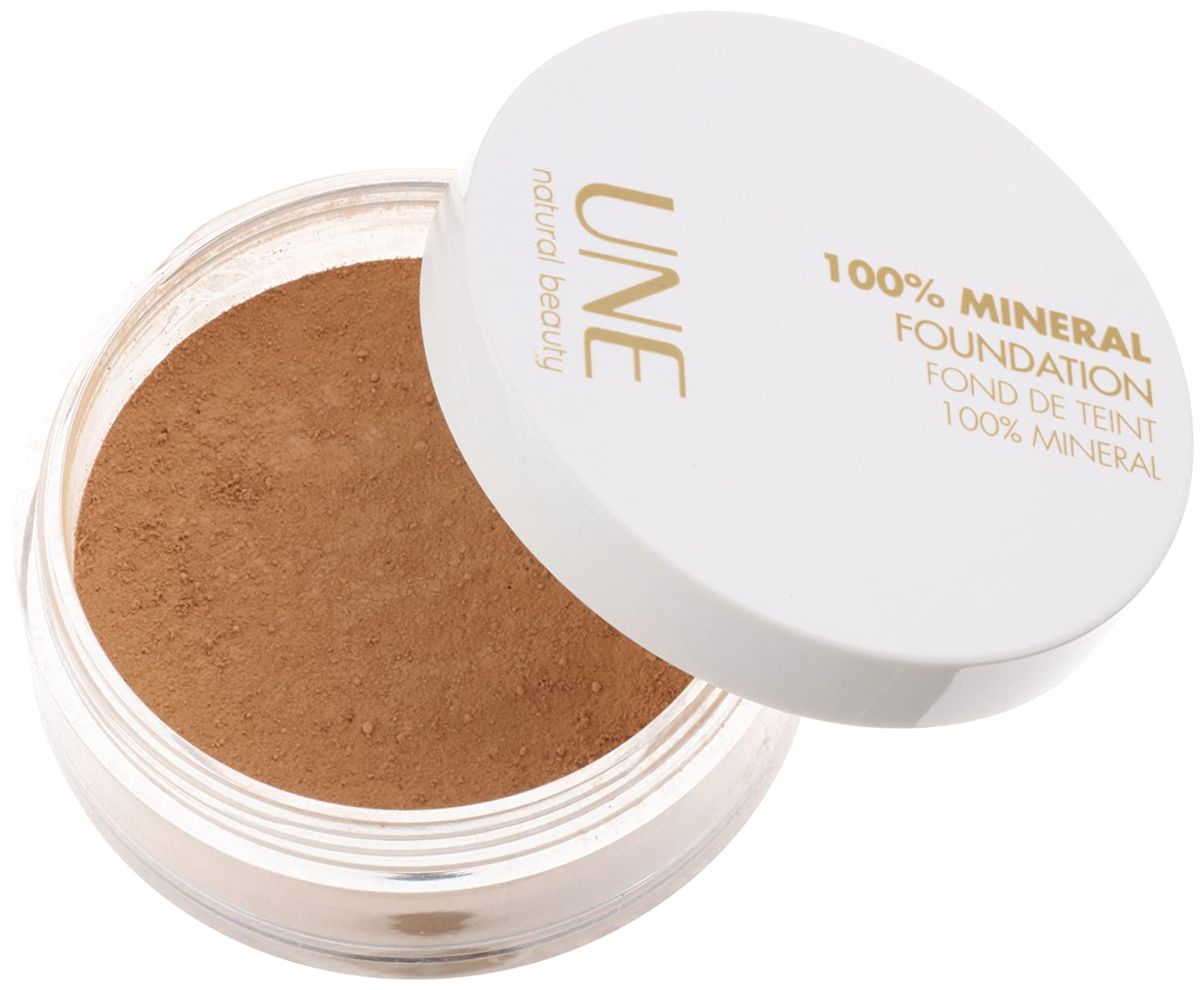 Une mineral foundation