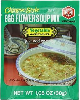 Amazon.com : Kikkoman Egg Flower Soup Corn, 1.34-Oz Units (Pack of ...