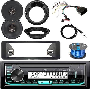 "Dash Protector Remote Marine Radio 2x 6.5/"" Speakers Antenna 50 FT Wire"