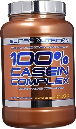 Scitec Nutrition Casein Complex Proteína Chocolate Blanco, Melón - 920 g