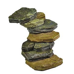Georgetown Home & Garden Miniature Rock Stair Case Garden Decor (Discontinued by Manufacturer)