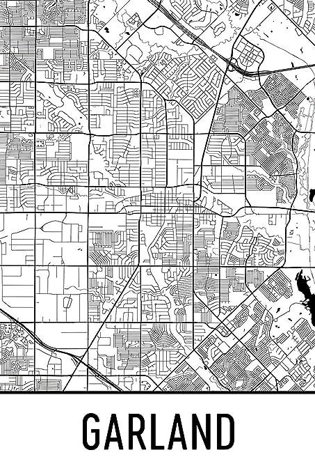 Amazon.com: Garland Print, Garland Art, Garland Map, Garland ... on collin co texas map, south san antonio texas map, plano texas map, dallas texas map, irving texas map, anna texas map, bee texas map, estelline texas map, bradford texas map, gannon texas map, gilbert texas map, tx mesquite texas map, flowermound texas map, grand texas map, springville texas map, hudson texas map, scottsdale texas map, collingsworth county texas map, raymond texas map, boerne texas map,