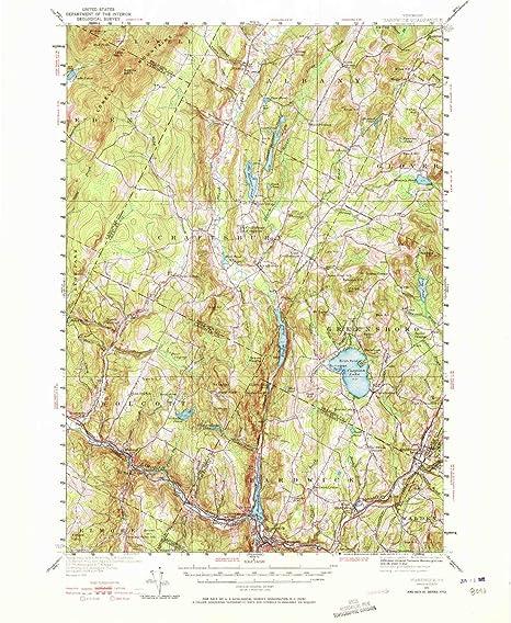 Amazon.com: YellowMaps Hardwick VT topo map, 1:62500 scale, 15 X 15 ...