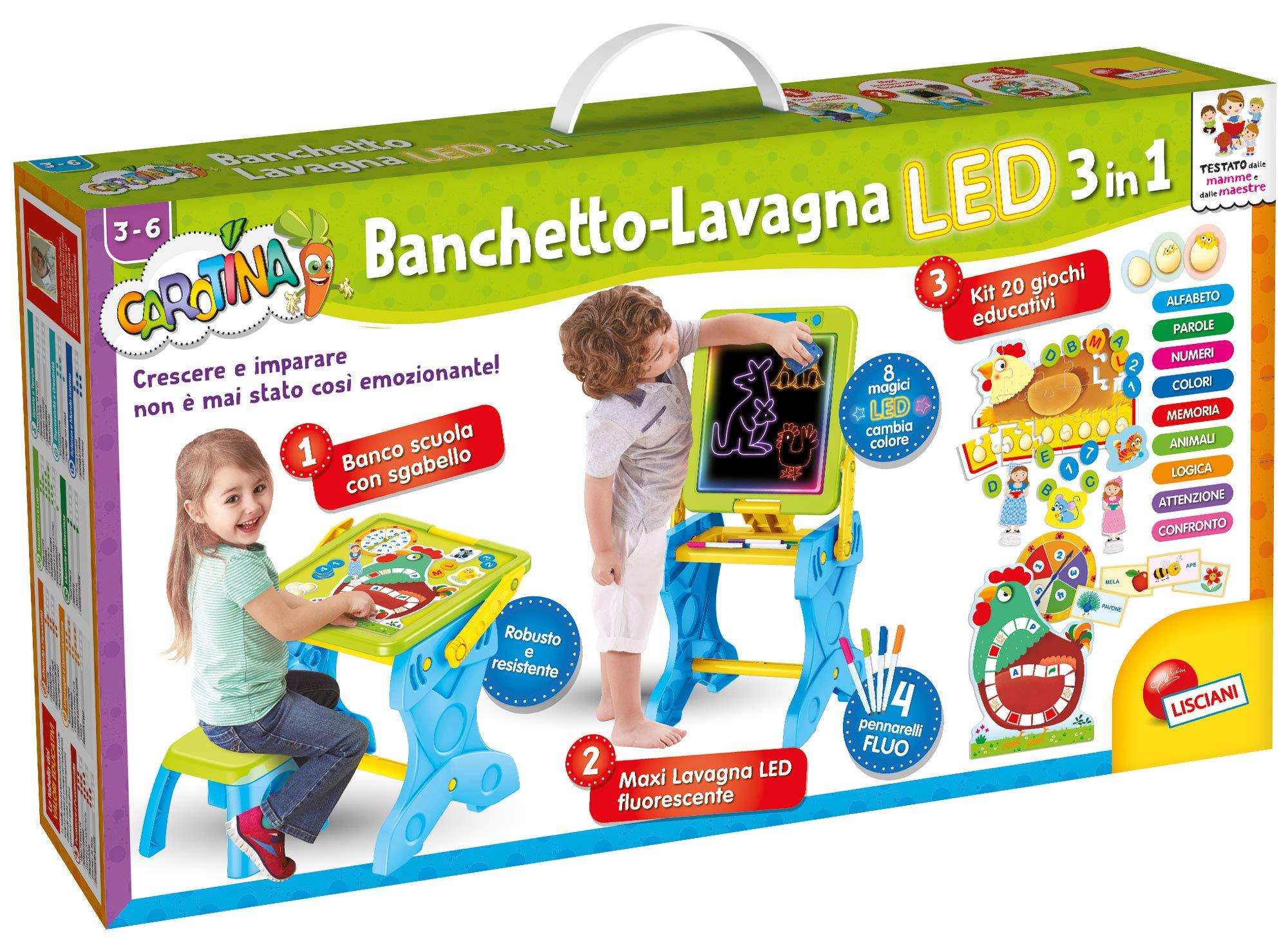 Lisciani Games carotina Banquet LED Gaming, and Imparo-Multicoloured, 68616