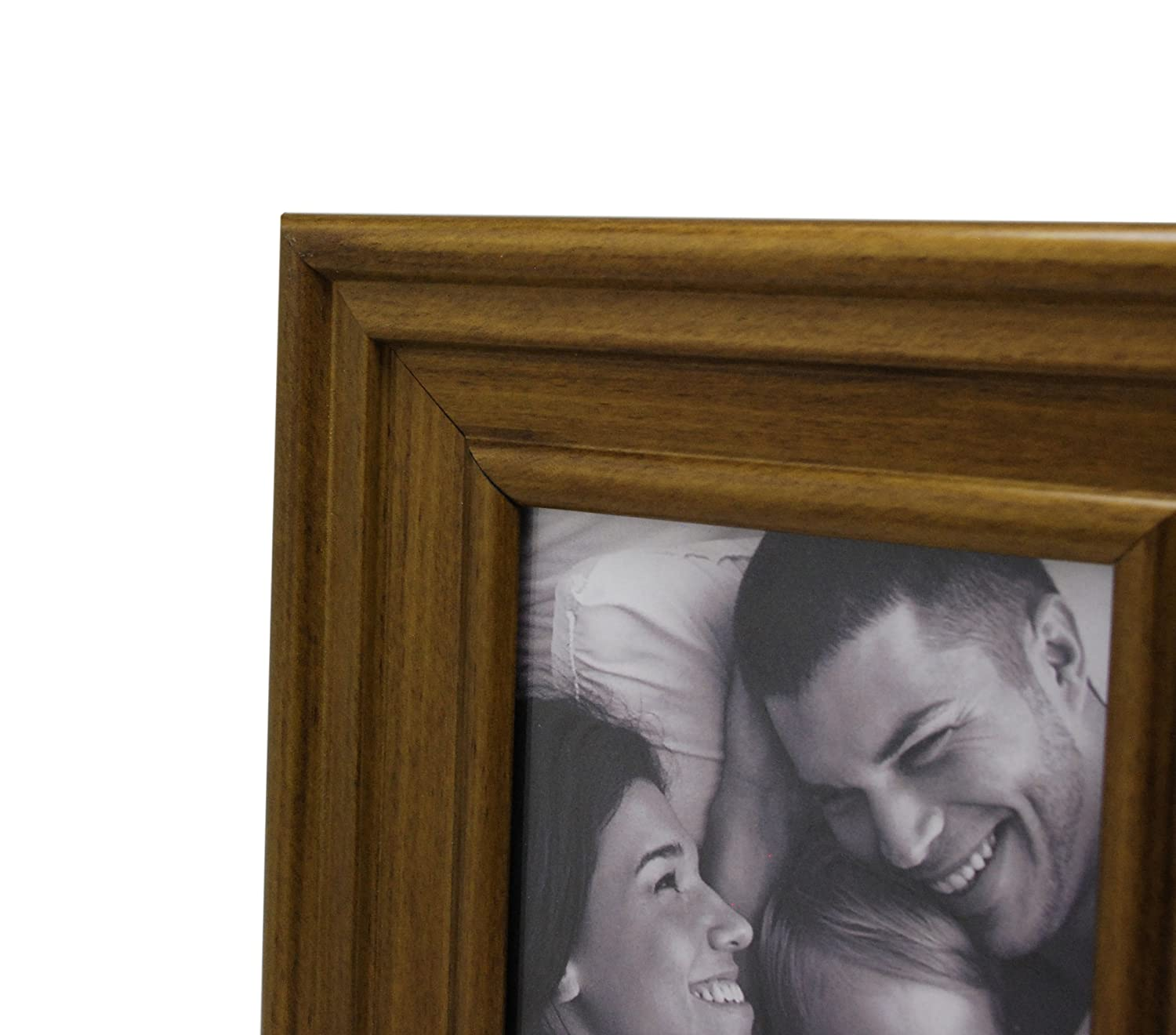 Kiera Grace Cole Picture Frame 8 by 10-Inch Antique Walnut Finish PH43779-2