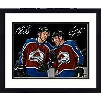 "$149 » Framed Cale Makar & Mikko Rantanen Colorado Avalanche Autographed 16"" x 20"" Spotlight Photograph - Fanatics Authentic Certified"