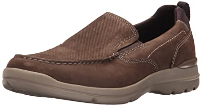 Rockport Men's City Edge Slip On Shoe, Summer Brown, ...