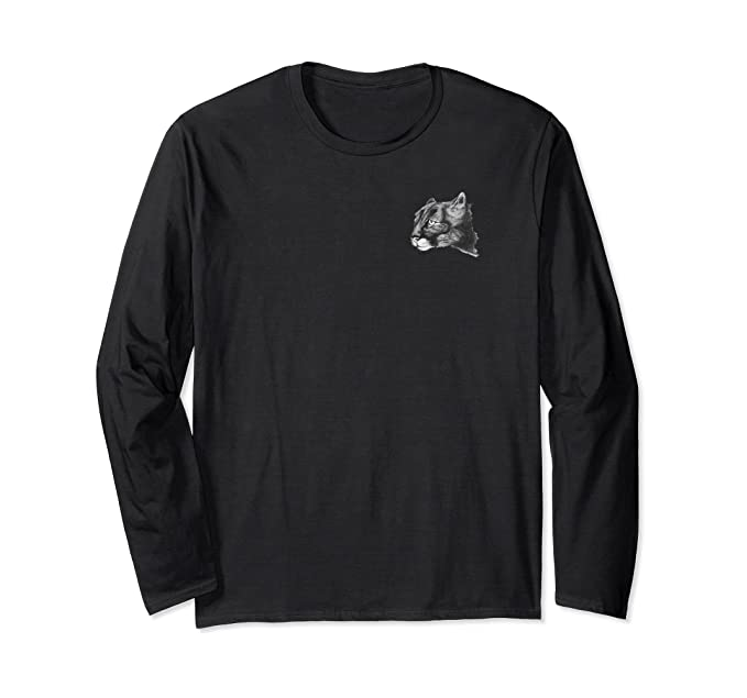 eee4de1883a36 Amazon.com: Puma. Cougar. Mountain Lion pocket emblem, long sleeve ...