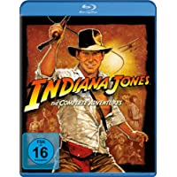 Indiana Jones - The Complete Adventures [Blu-ray]
