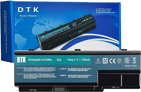 DTK PC Portátil Batería de Repuesto para Acer Aspire AS07B71 ...