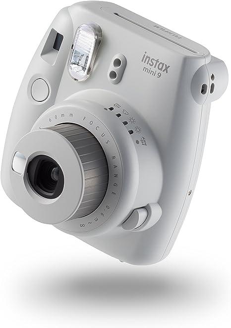 Fujifilm Instax Mini 9 - Cámara instantánea, Cámara con 10 disparos, Blanco: Amazon.es: Electrónica