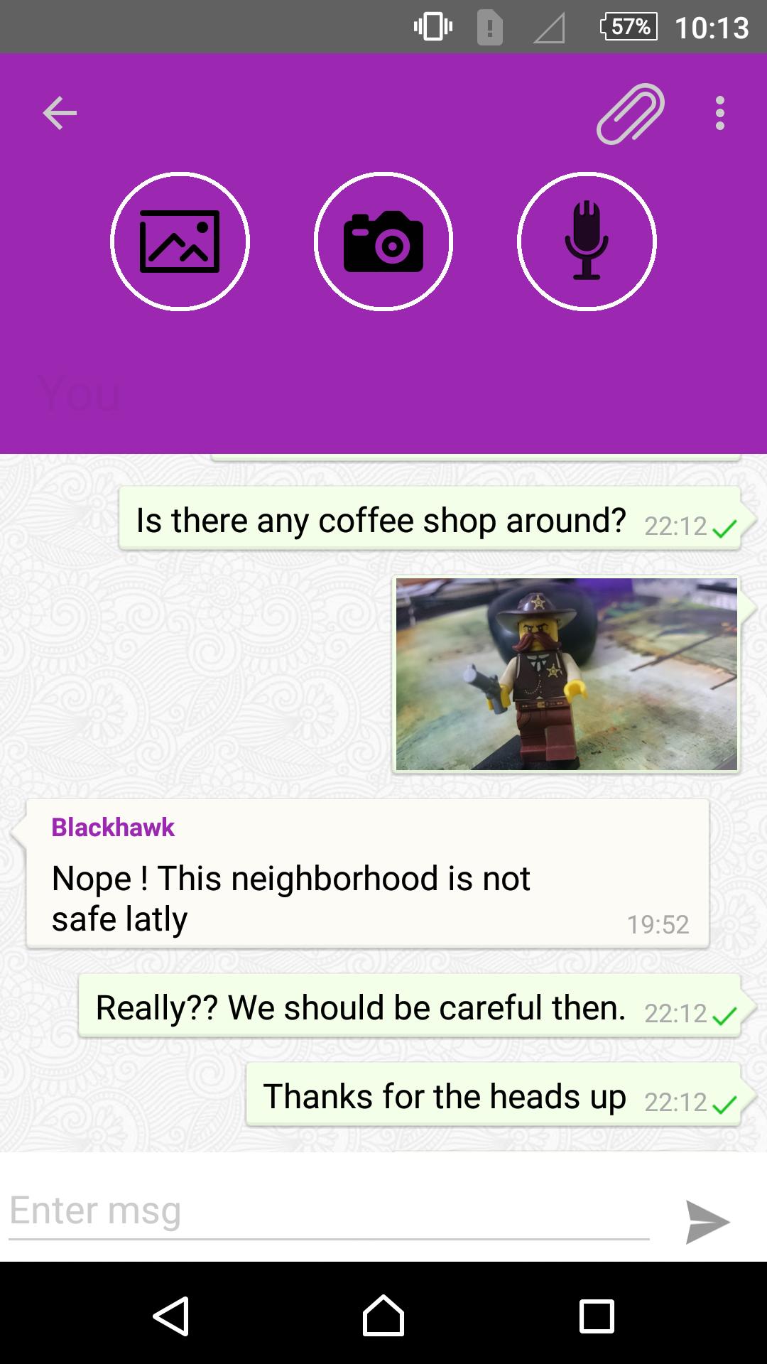 how to set messenger to offline