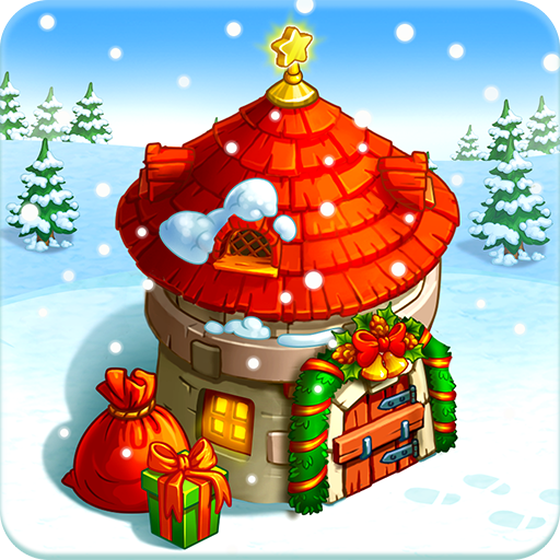 Happy New Year Farm: Christmas - Happy Cookie Day