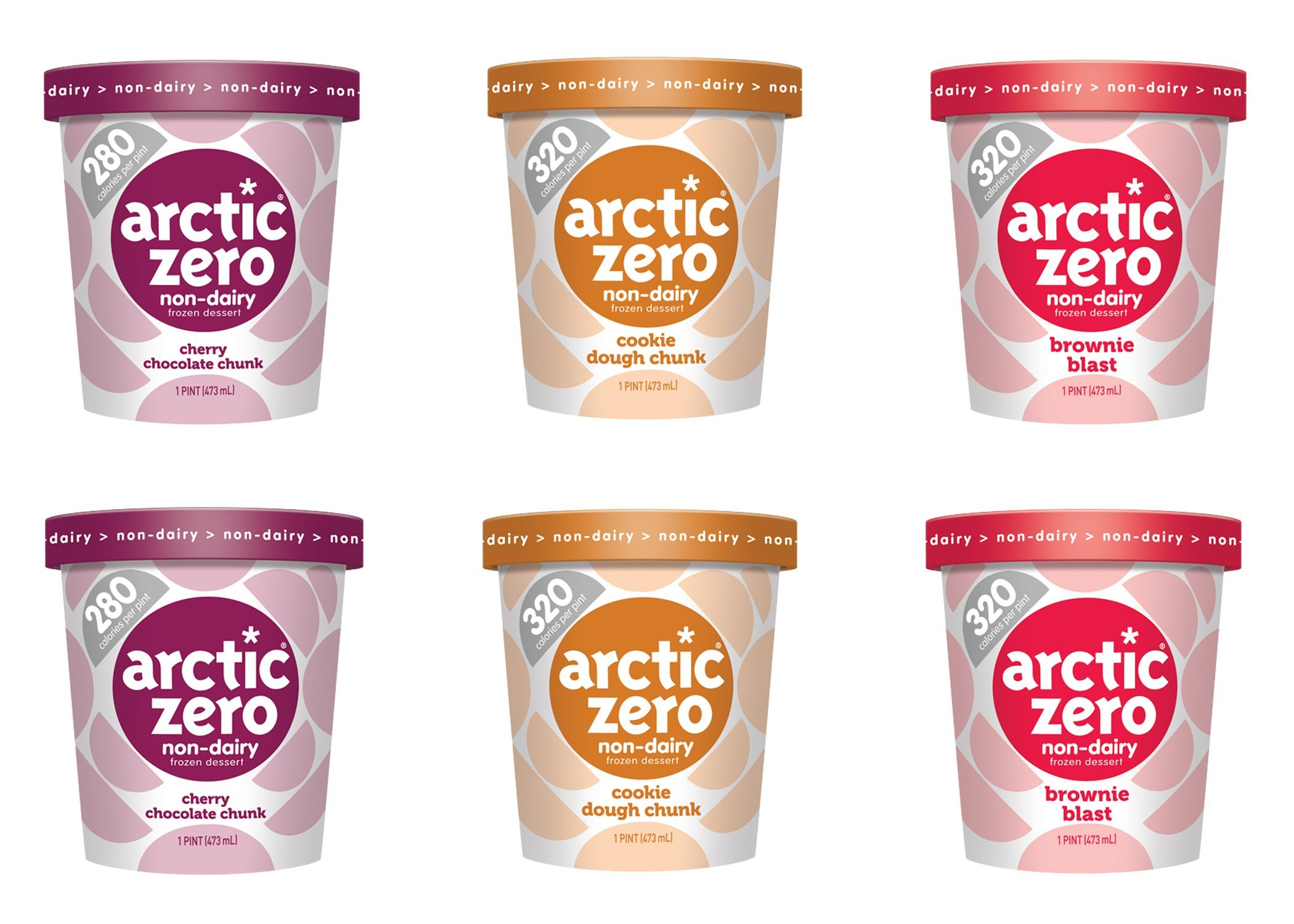 Arctic Zero Non-dairy Chunky Variety Pack, 16 Fluid Ounce (pack Of 6)