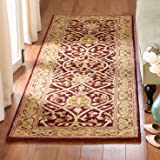 """Safavieh Persian Legend Collection PL819K Handmade Traditional Red and Gold Wool Runner (2'6"""" x 12')"""