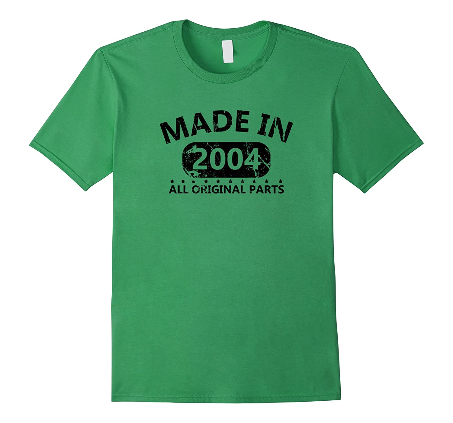 13th Birthday Made 2004 Vintage Funny T-shirt Gift Quote Tee