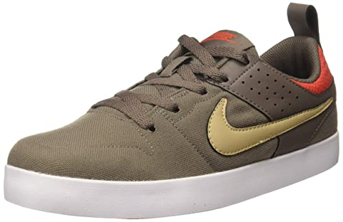 c542e52d2964 Nike Men s LITEFORCE III DarkMushroom Lnen-MaxOrng Basketball Shoes-5.5  UK India
