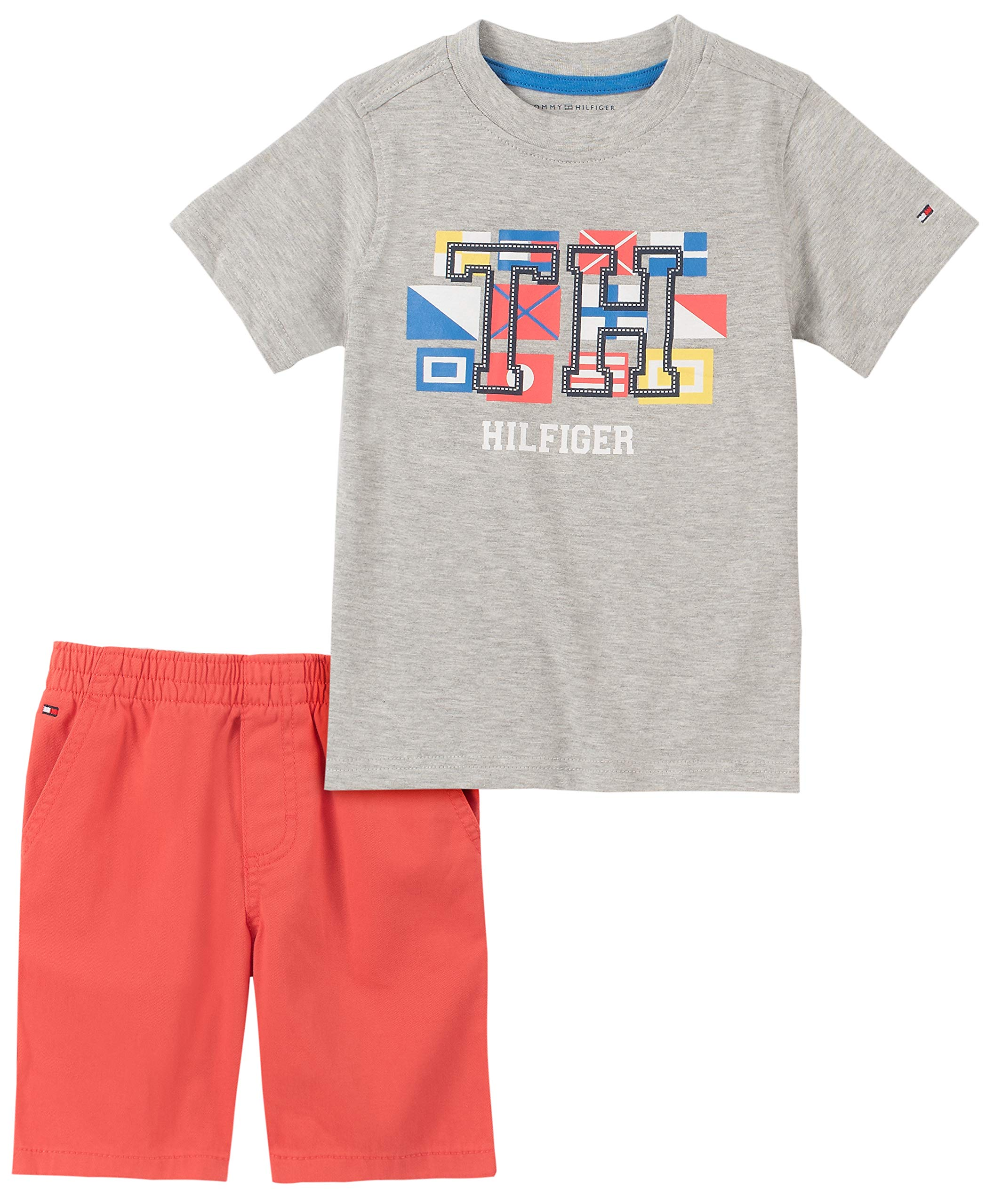 Tommy Hilfiger Boys' 2 Pieces Shorts Set