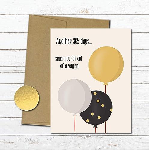 Amazon Funny Birthday Card For Mom Friend Husband