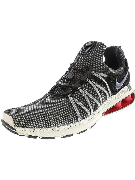 finest selection 654d7 f1b50 Nike Men s Shox Gravity Black   - Sail Ankle-High Running Shoe 9M  Nike   Amazon.ca  Shoes   Handbags