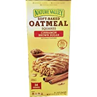Nature Valley Nature Valley Soft Baked Oatmeal Squares 34 x 1.24 Oz Net Wt 42.1 Oz, 42.1 oz