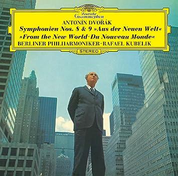 ドヴォルザーク:交響曲第8番、第9番「新世界より」