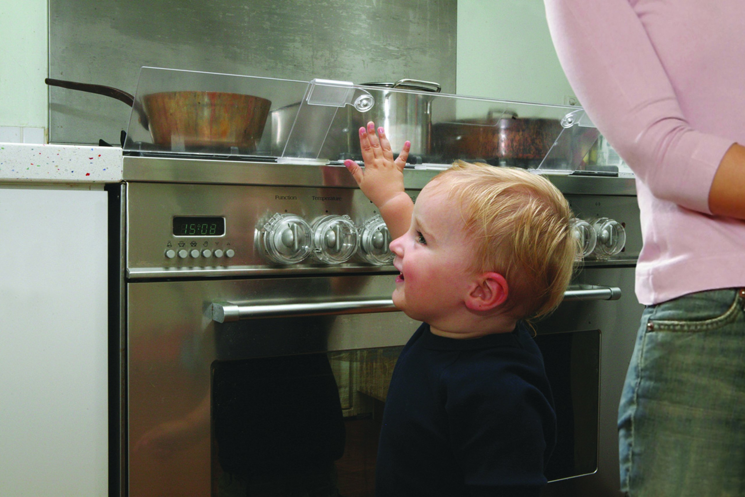 Dreambaby Stove Top Guard (Transparent) by Dreambaby (Image #2)