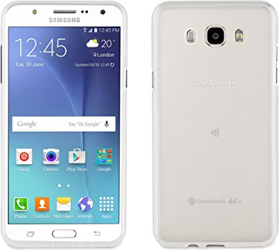 Muvit MUCRS0013 - Funda para Samsung Galaxy J7 2016: Amazon.es ...