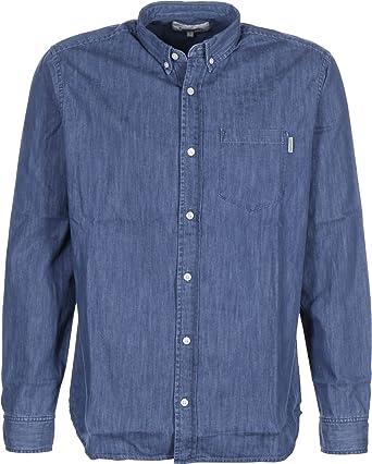 Carhartt Ch L/S Civil Camisa, Azul (Stonewash), NA (Talla del ...