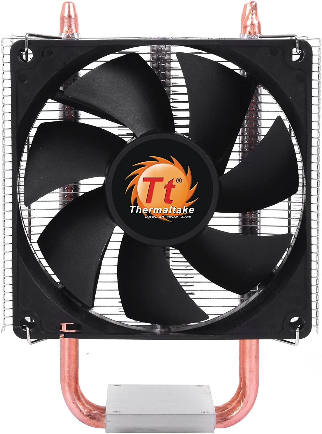 color negro y plata Thermaltake Contac 16 Disipador de CPU